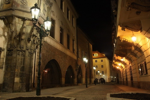 Prágai utca / A street of Prague