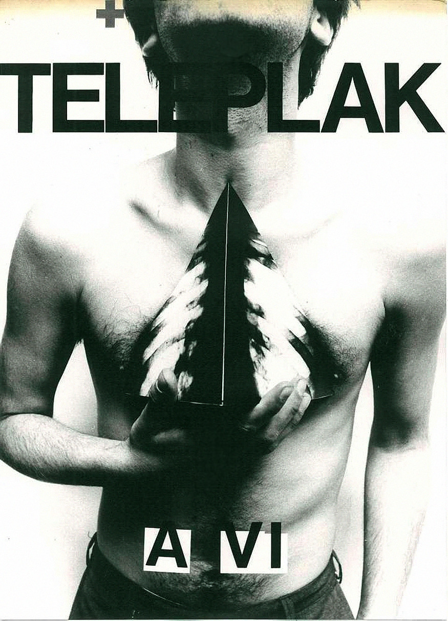 "Template for the TV poster ""Teleplak"", 1974., 318 x 231 cmby Boris Bućan"