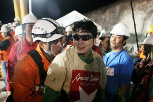 Remember the Chilean miners? A year ago, their return to the surface (after nearly three months underground) was the feel-good story du jour. Now, most of them live in poverty, their film deal is still winding its way through the system, and they're widely criticized for attempting to make money off their incredible story through public speaking engagements while at the same time trying to sue the government. And worst of all, some have had to return to the mine. Hey, people of Chile, do not give these guys crap. That's an order. (h/t ProducerMatthew)