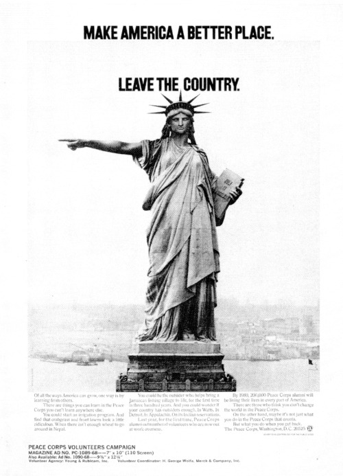 peacecorps:  Peace Corps Public Service Announcement - 1968