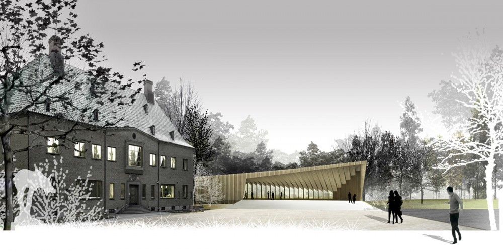 GOSTA CONTEMPORARY ART MUSEUM EXTENSION COMPETITION WINNER