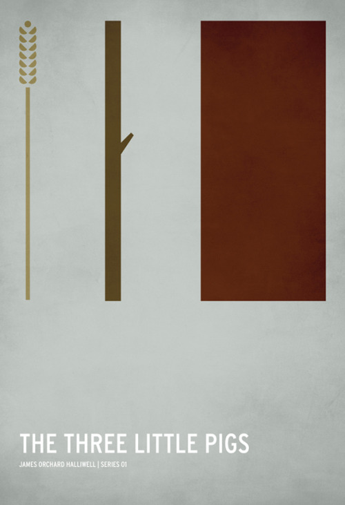 Minimalist children story posters.  Very cool. Even has my favorite story, The Princess and the Pea(nus)