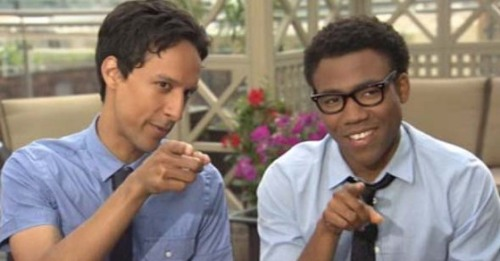 love-in-words:  Day #2 - Favourite male character Abed and Troy. They're like one entity, right?
