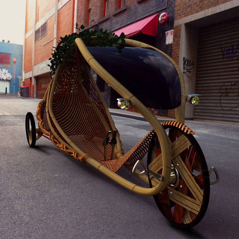 "Ajiro Bamboo Velobike: A ""Grown Vehicle"" That's Farmed, Not Factory-Made"