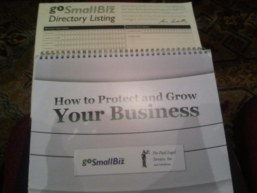 I'm ready to help small businesses grow and protect themselves :)