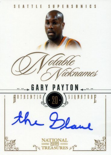 Dammit, @paniniamerica, did you forget to tell GP to sign his name?  This would have been the hit of National Treasures…