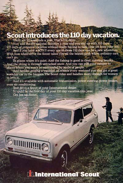 Harvester International Scout. 1960's. night-is-sparklin:  hopefully my first car