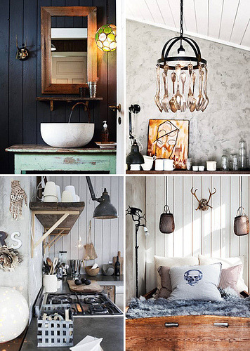 a cosy norwegian winter home (by the style files)