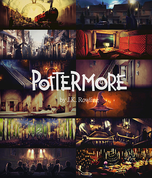pottermoreclub:  there is no end to Harry Potter ϟ