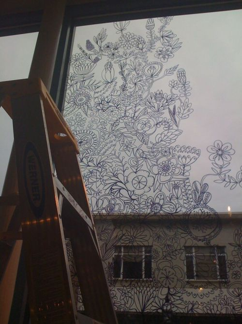 window drawing by swallowfield