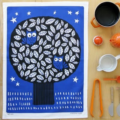 tea towel by Lisa Jones