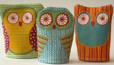 sew your own owl by Alice Melvin