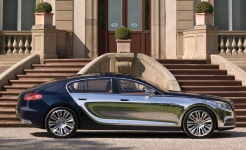 Bugatti Galibier. 1.4 million dollar family car