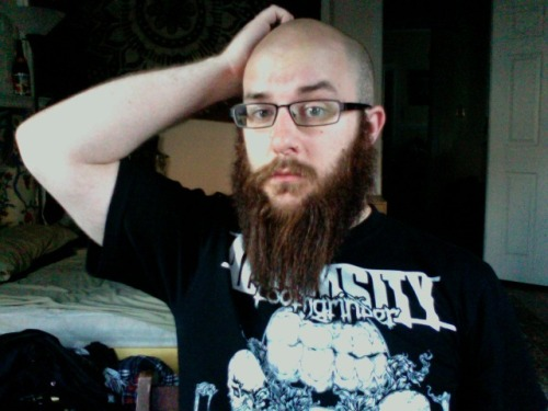 GPOY. How much more beard can my face take? Just how far should I take this thing?