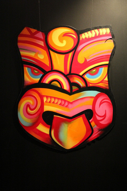 Bomb Da Bass (2011) by Hone Ngata by Colour Me Fiji on Flickr.