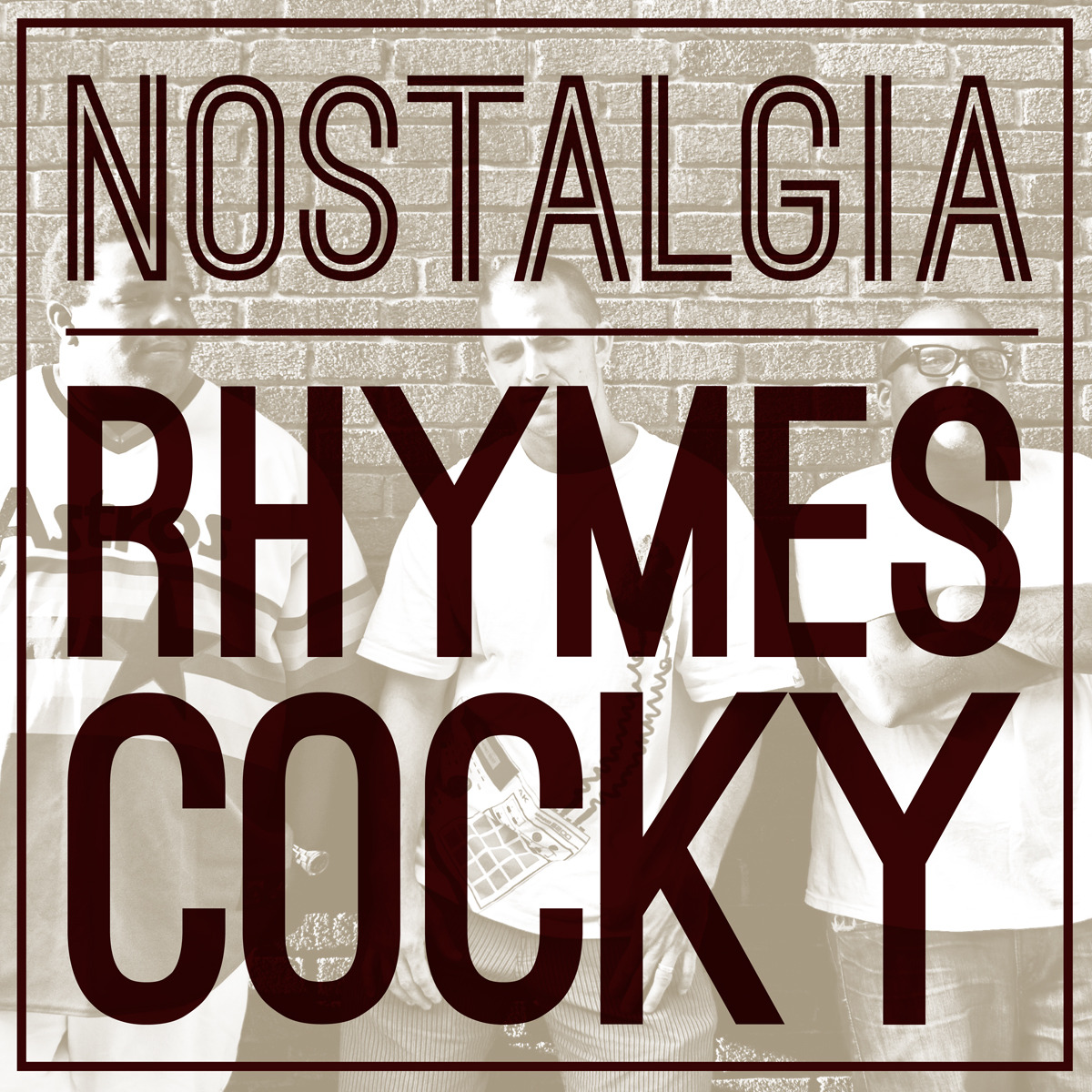 "Download the single ""Rhymes Cocky"" HERE!     Nostalgia-RhymesCocky by nostalgiamusic"