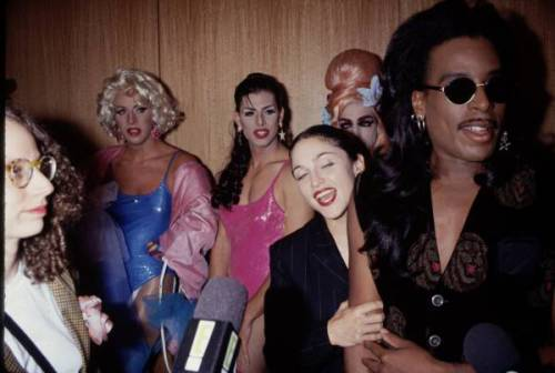 Icon Willie Ninja, Madonna & Paris Is Burning Director Jennie Livingston.