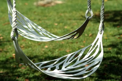Leaf Swing by Alberto Sanchez.  Falling Leaves.