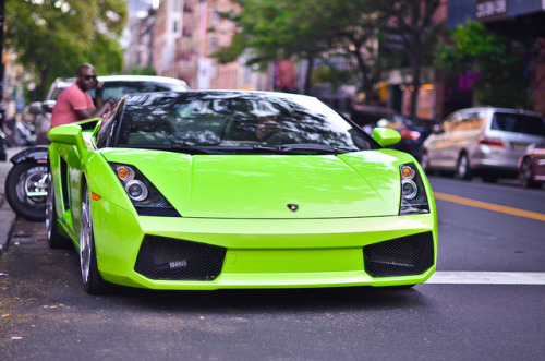 Lamborghini Gallardo Spyder in Ithaca Verde color. Photo by Klaus Kniehase.