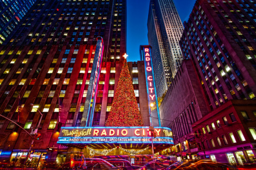 Radio City @ New York City by mudpig on Flickr.