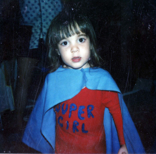 vintagegal:  me on Halloween 1981