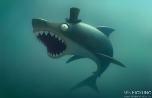 Shark Week // by Ben Hickling Blog | deviantART