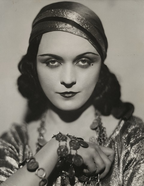 My Bohemian History hollywoodsgoldenage:  Silent-film actress Pola Negri