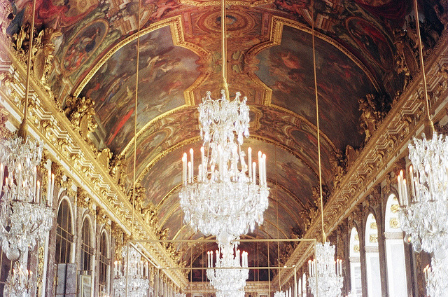 | ♕ |  Hall of Mirrors in Versailles Palace  | by Kesang