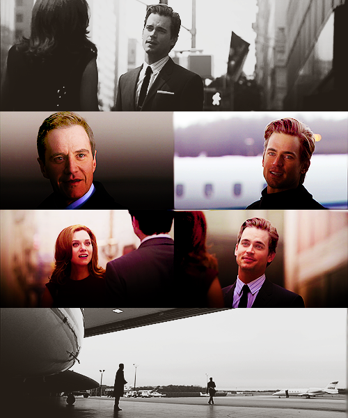 Peter:  You said goodbye to everyone but me.  Why?Neal:  Because you're the only one who could change my mind.— 1x14 Out of the Box____________________________Sara:  Were you gonna say goodbye to me?Neal:  No.— 3x09 On the Fence