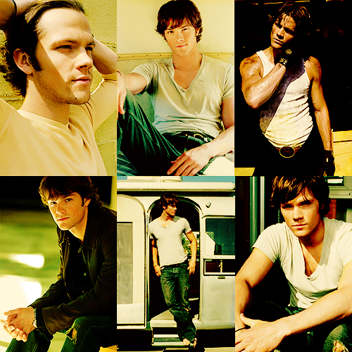 Men I admire in a creepy way:→ Jared Padalecki