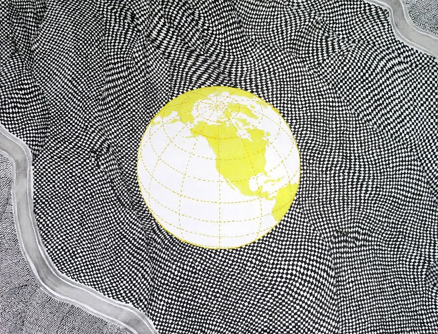 Wiktor Dyndo (PL) - The global problem, 75 x 100 cm, 2010 oil on canvas