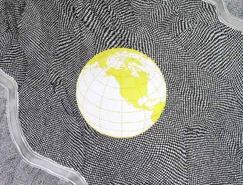 sublimotion:  Wiktor Dyndo (PL) - The global problem, 75 x 100 cm, 2010 oil on canvas