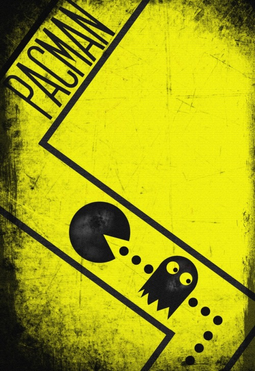 it8bit:  PACMAN - by Chris Clegg Tumblr || Website Created and submitted by chrisdclegg.