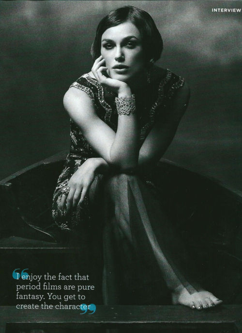 Keira Knightley in Marie Claire Australia - September 2011.