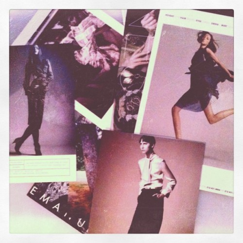 Casting choices #model #girl (Taken with instagram)