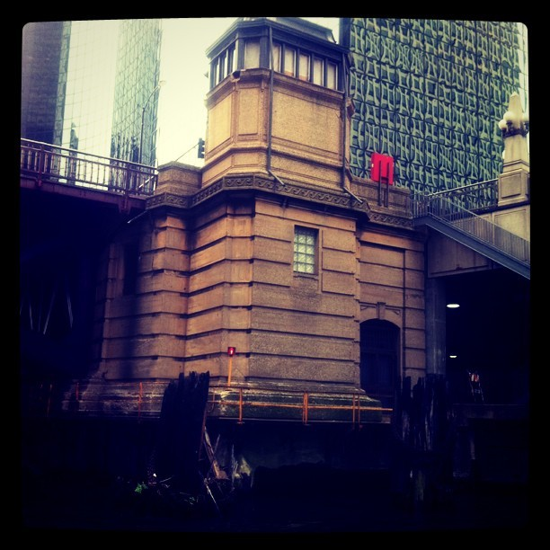 Bridge keeper house (Taken with instagram)