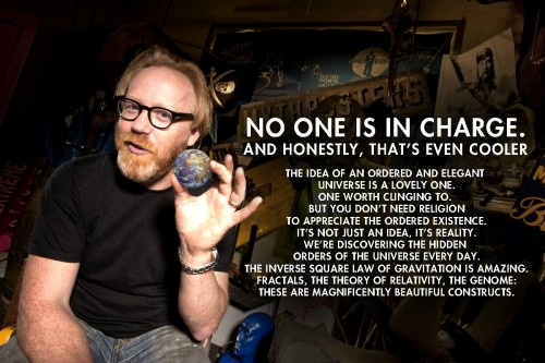 atheistsblog:  Adam Savage