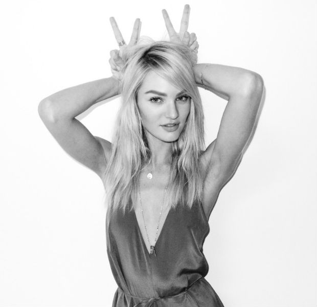 Candice Swanepoel by Terry Richardson