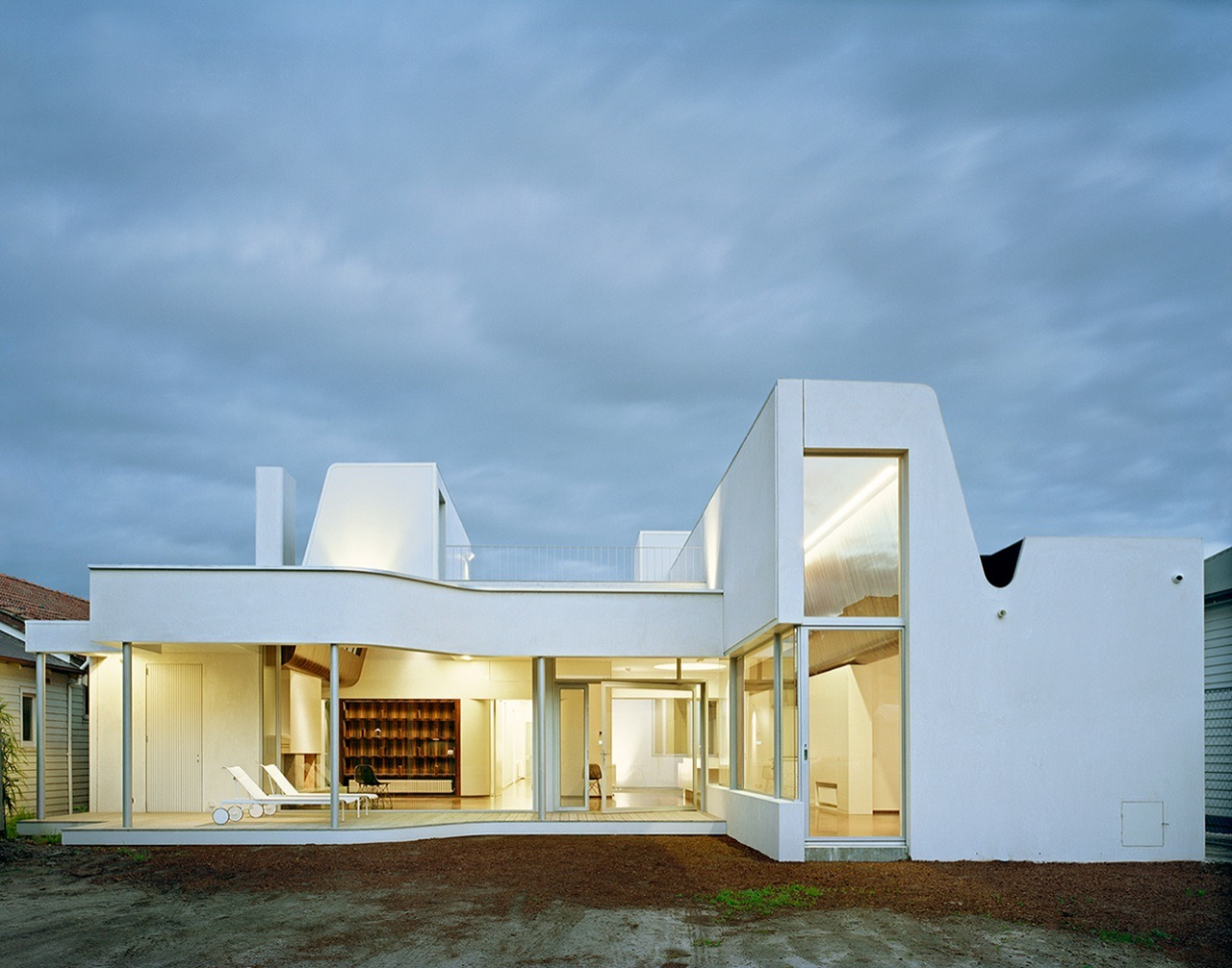 Archdaily clifton hill house in melbourne australia for Architects melbourne