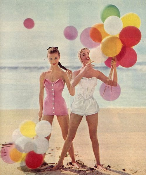 angelsfaceloves: Young at heart never too old for balloons