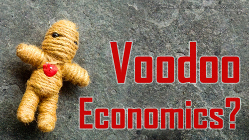 Voodoo Economics:  Time for a History Lesson?  Pass it on.