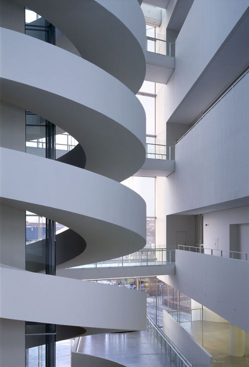 Helical White Walls (via Stairporn)