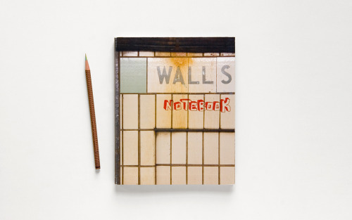 Instead of blank pages, Walls Notebook features photos of different walls that you can draw or doodle on.