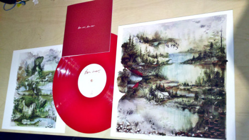 beautiful, beautiful red vinyl and it's all mine