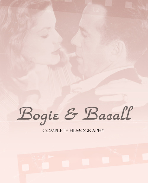 Bogie and Bacall Film List  Movies: 1944 - To Have and Have Not / WATCH / DOWNLOAD 1946 - The Big Sleep / WATCH / DOWNLOAD 1947 - Dark Passage / WATCH / DOWNLOAD 1948 - Key Largo / WATCH / DOWNLOAD  Lux Radio Theatre: October 14, 1946 - To Have and Have Not / LISTEN November 28, 1949 - Key Largo / DOWNLOAD (The radio version does not feature Bogie and Bacall.)  Please contact me if any of the links don't work/aren't right.
