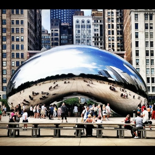 mooredan:  The Bean (Taken with instagram)