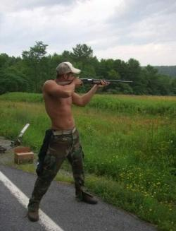 gotthatsouthernhospitality:  bleedcountry:  I'd let him shoot me.  ^ o.O