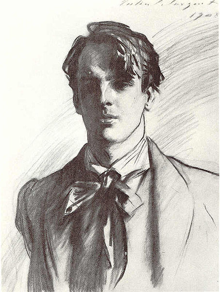 John Singer Sargent's portrait of poet William Butler Yeats