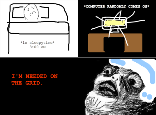 This JUST happened to me. O.o