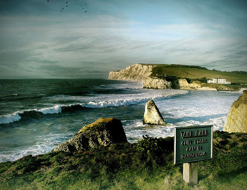 theworldwelivein: Freshwater Bay, Isle of Wight, England, GB © s0ulsurfing